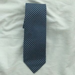 Nautica blue tie with light blue dots